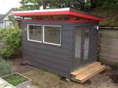 Cool diy backyard studio shed remodel design & decor ideas (43)