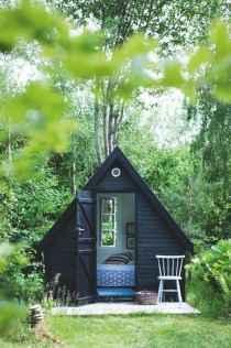 Cool diy backyard studio shed remodel design & decor ideas (55)