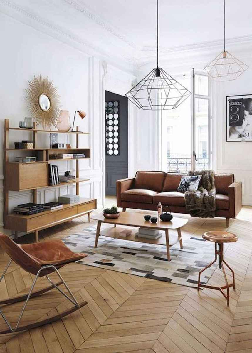 Cool mid century living room decor ideas (21)