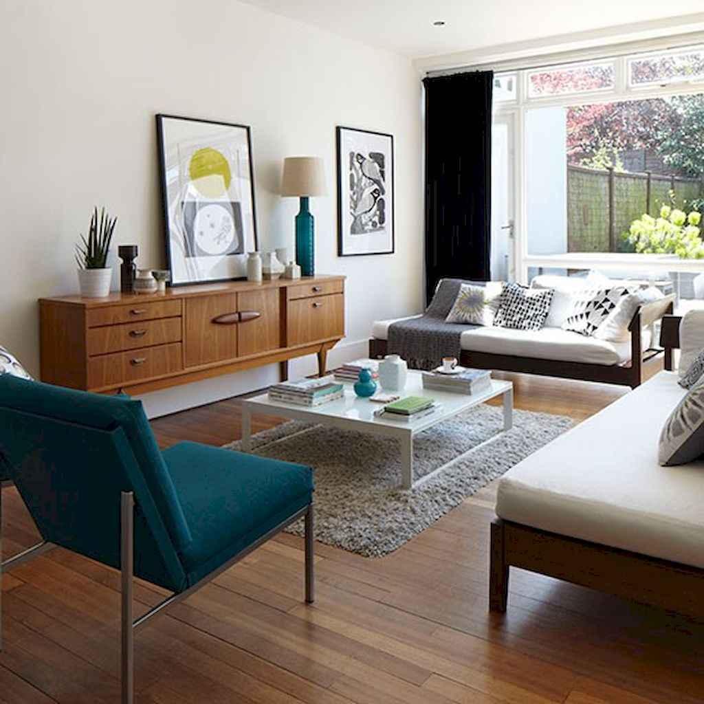 Cool mid century living room decor ideas (29)