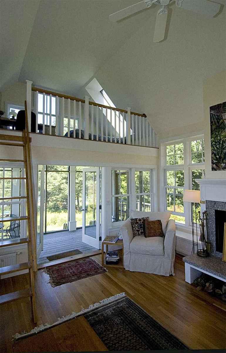 Cozy attic loft bedroom design & decor ideas (8)