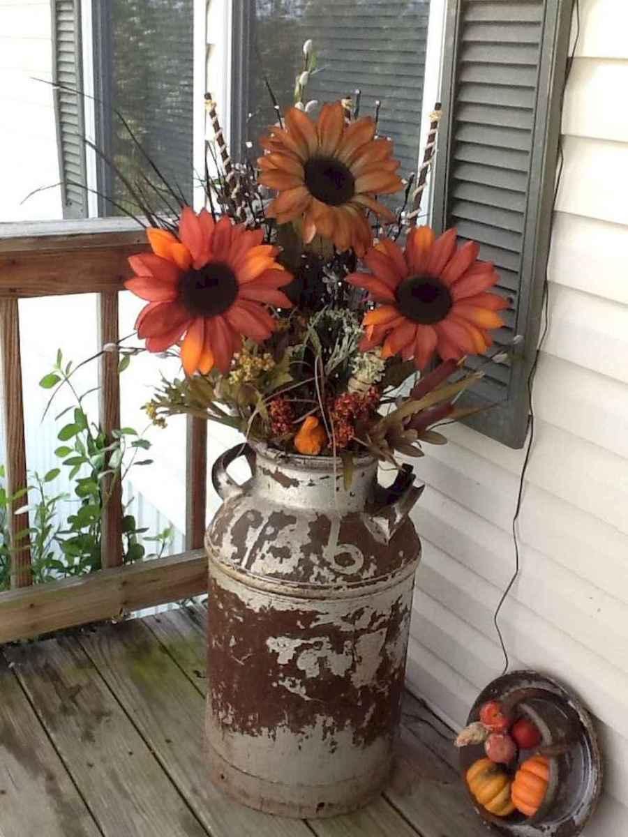 Creative diy fall porch decorating ideas (16)