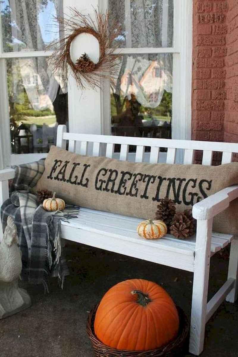 Creative diy fall porch decorating ideas (20)