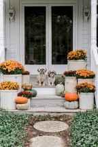 Creative diy fall porch decorating ideas (38)