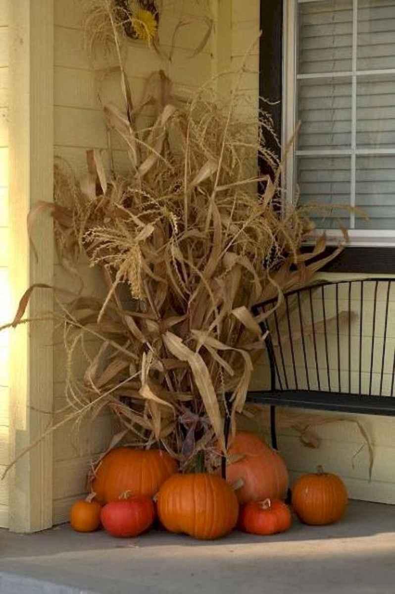Creative diy fall porch decorating ideas (49)
