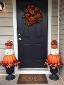 Creative diy fall porch decorating ideas (5)
