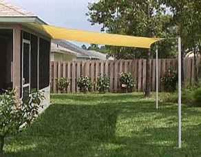 Diy shade canopy ideas for patio & backyard decoration (22)