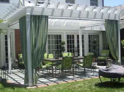 Diy shade canopy ideas for patio & backyard decoration (5)