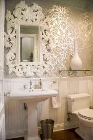 Fresh and cool powder room design & decoration ideas (12)