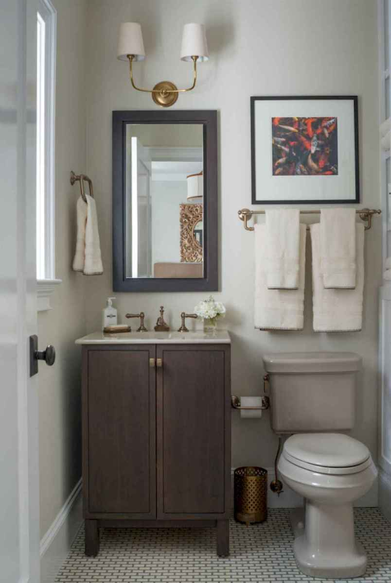 Fresh and cool powder room design & decoration ideas (27)
