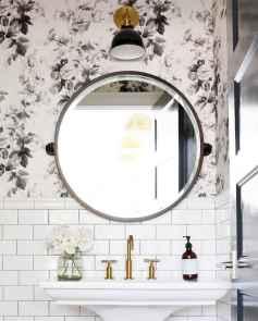Fresh and cool powder room design & decoration ideas (31)