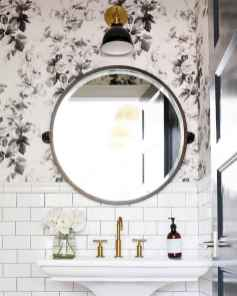 Fresh and cool powder room design & decoration ideas (31)