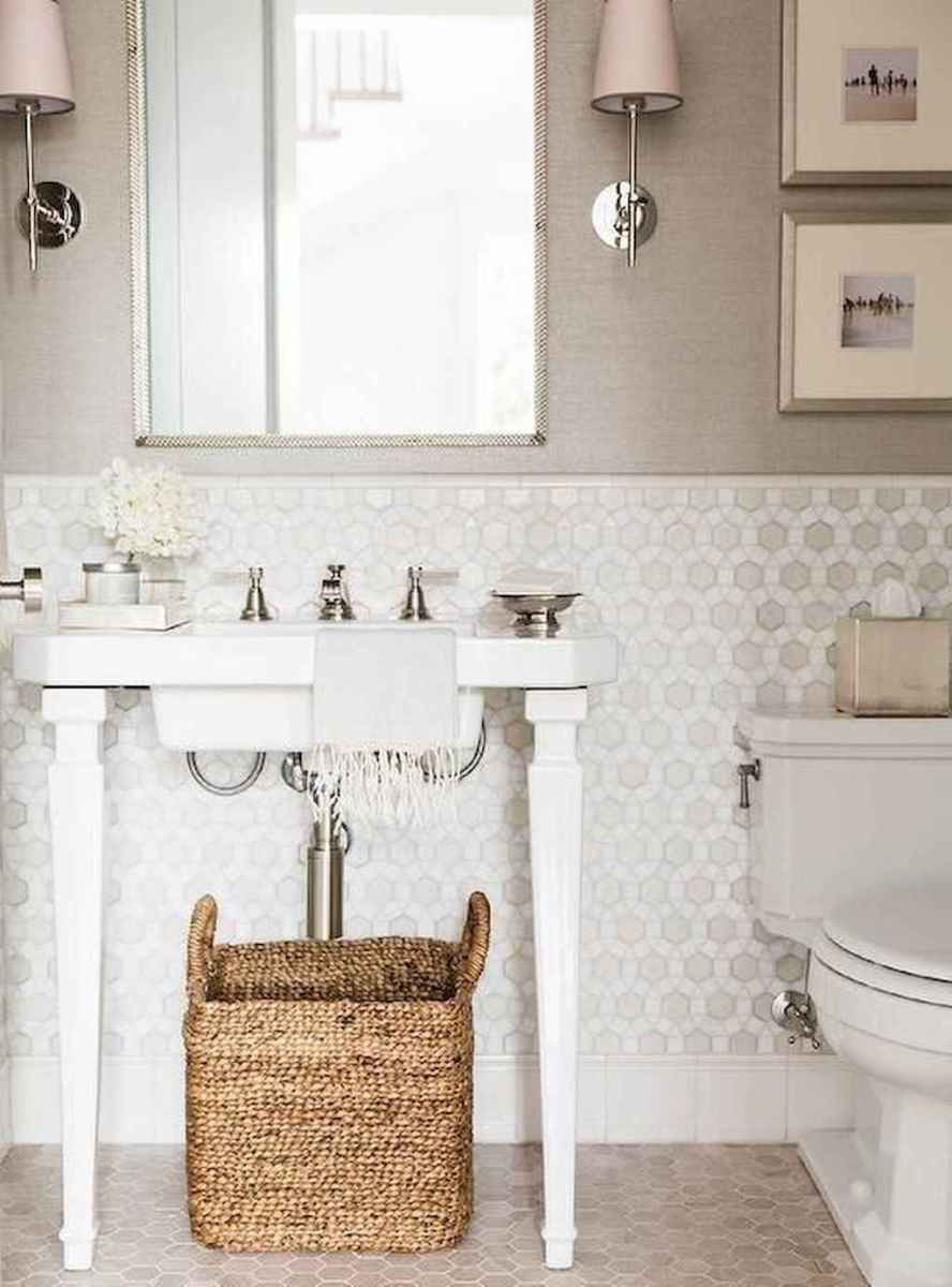 Fresh and cool powder room design & decoration ideas (43)