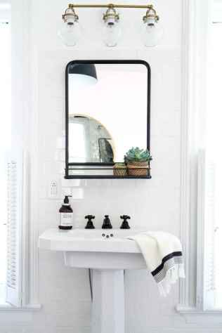 Fresh and cool powder room design & decoration ideas (51)