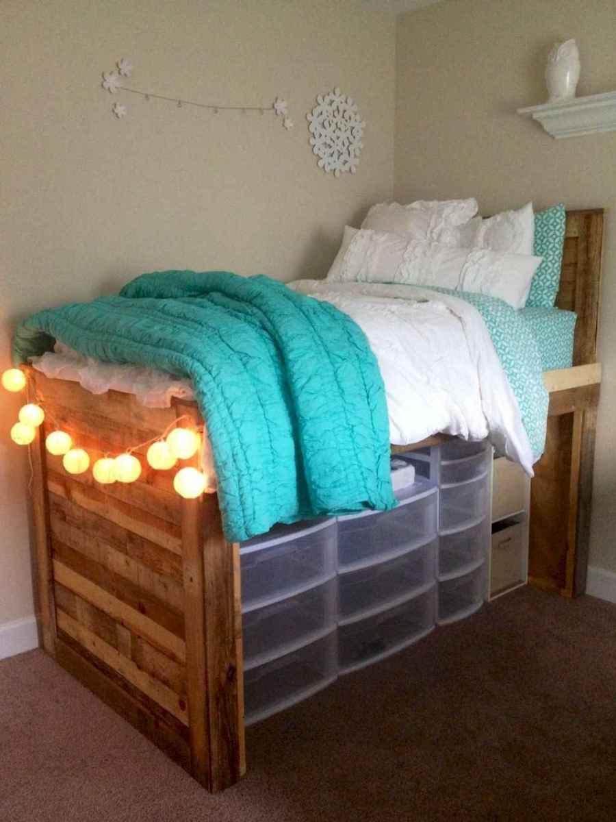 Genius dorm room organization ideas on a budget (52)