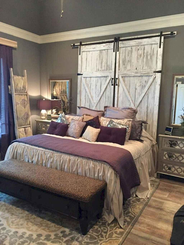Gorgeous rustic master bedroom design & decor ideas (33)
