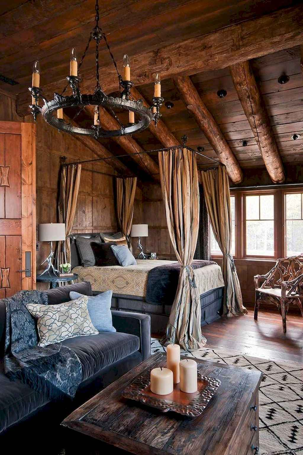 Gorgeous rustic master bedroom design & decor ideas (39)