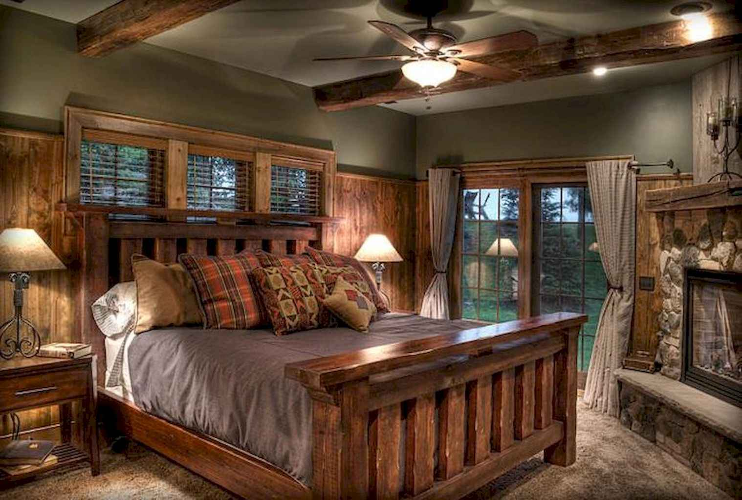 Gorgeous rustic master bedroom design & decor ideas (5)