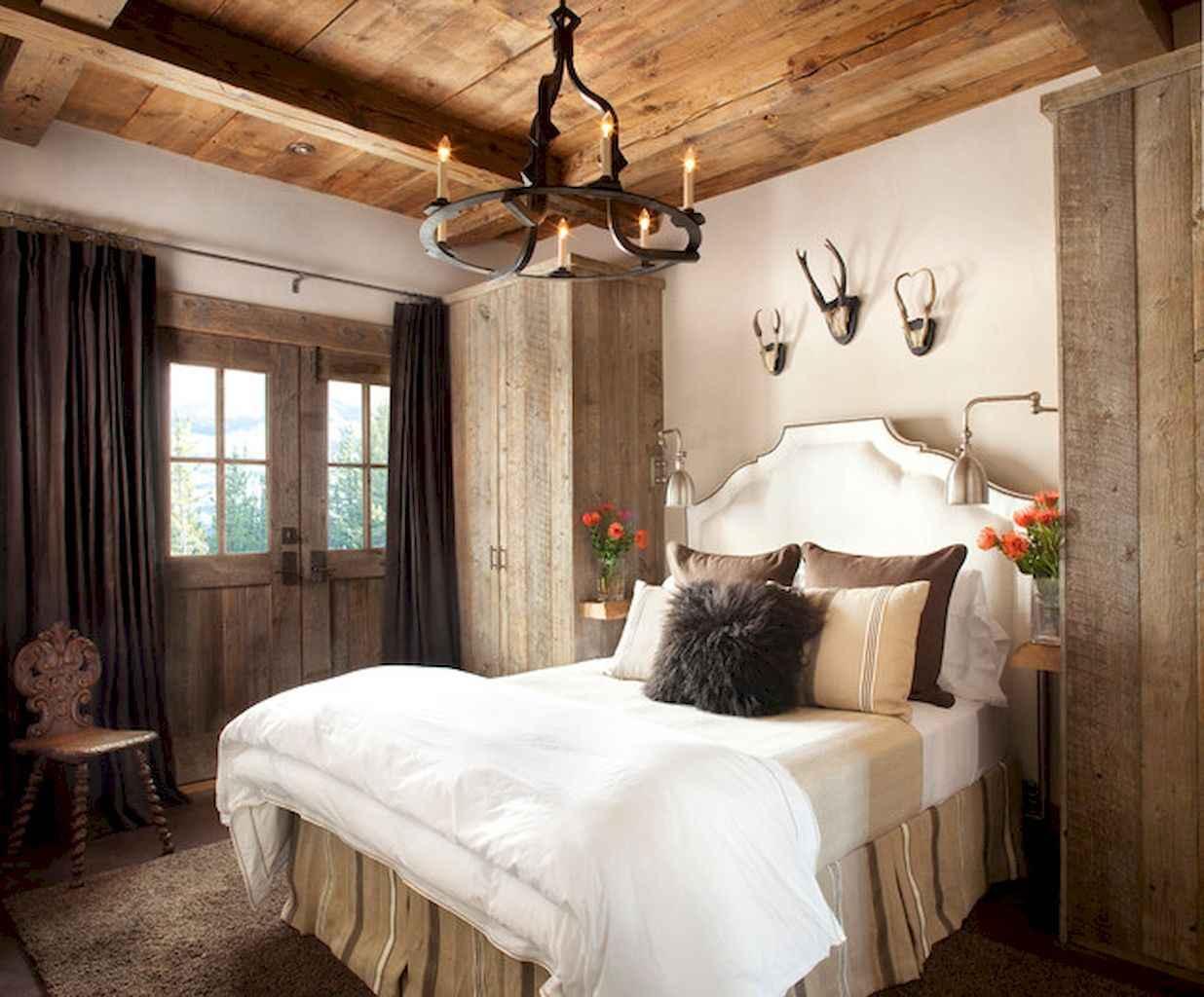Gorgeous rustic master bedroom design & decor ideas (6)