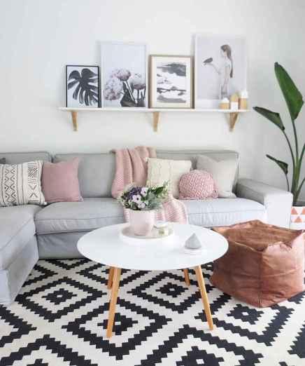 Gorgeous scandinavian living room design trends (32)