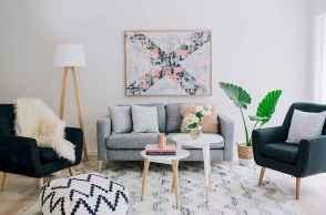 Gorgeous scandinavian living room design trends (44)
