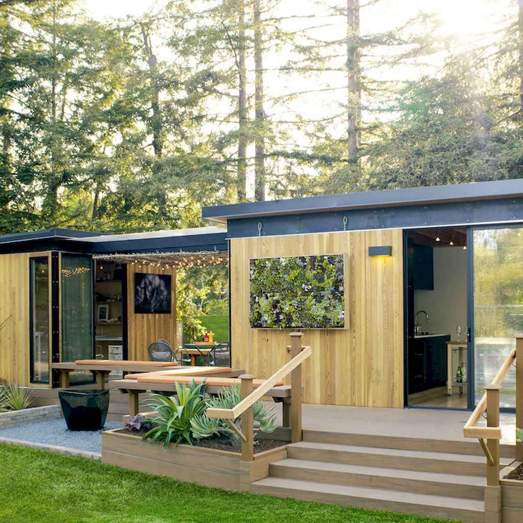 Incredible backyard storage shed makeover design ideas (27)