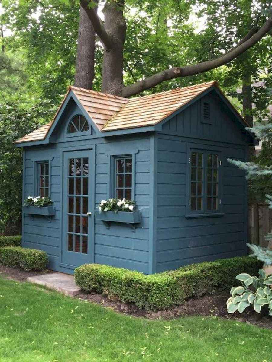 Incredible backyard storage shed makeover design ideas (3)