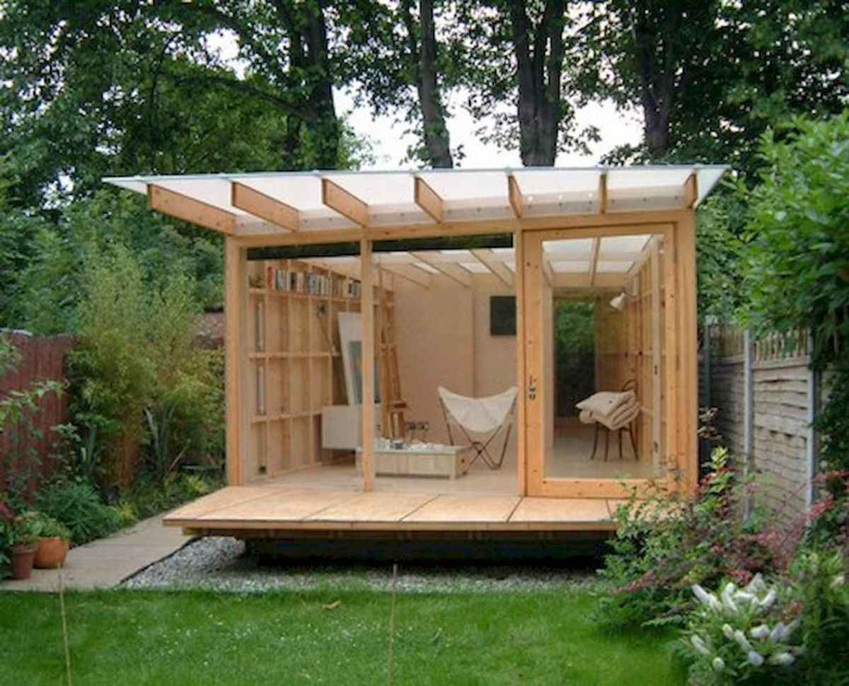 Incredible backyard storage shed makeover design ideas (62)