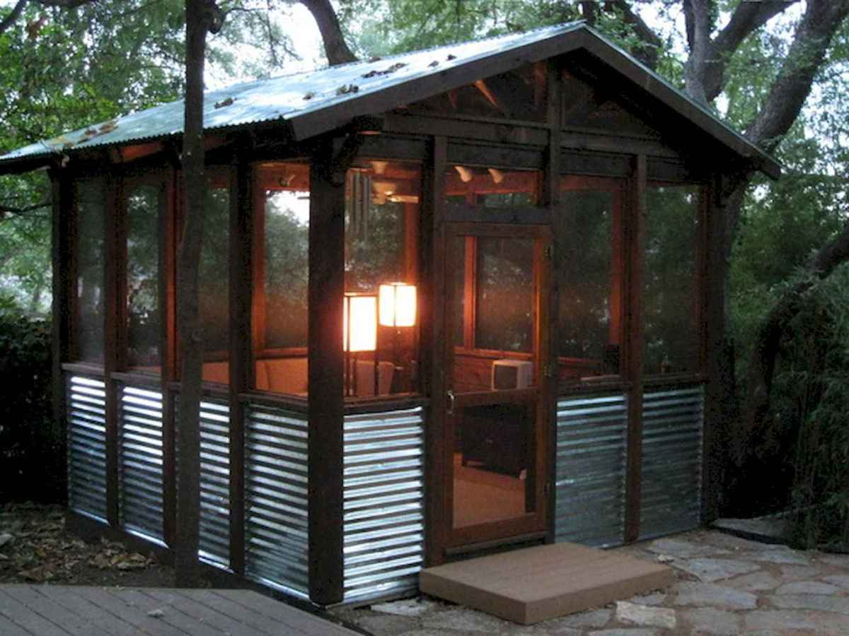 Incredible backyard storage shed makeover design ideas (9)