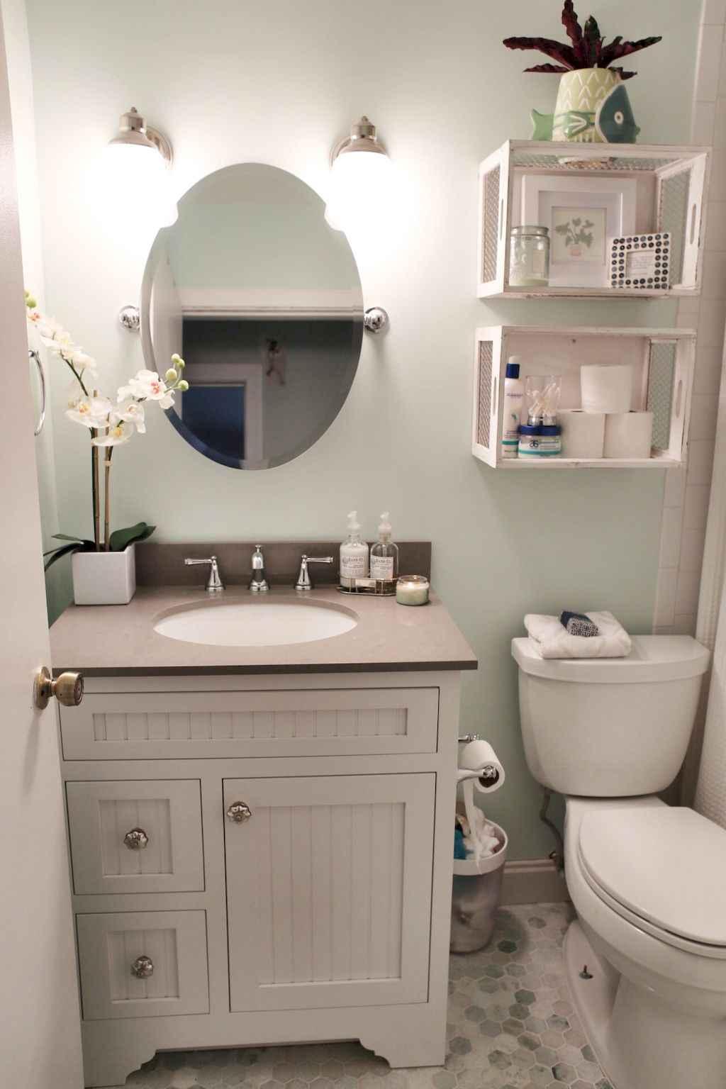 Inspiring apartment bathroom remodel ideas on a budget (22)