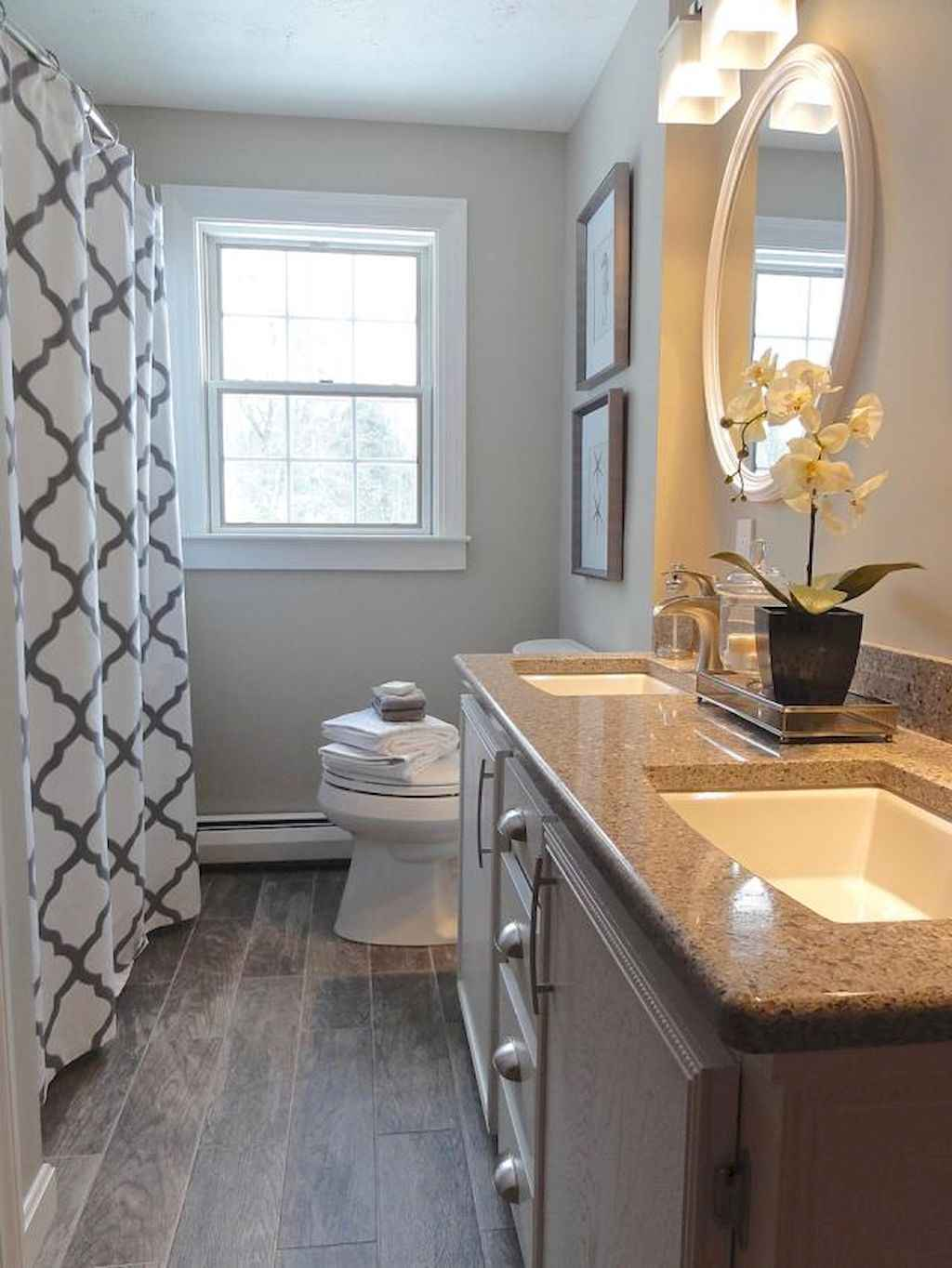 Inspiring apartment bathroom remodel ideas on a budget (5)