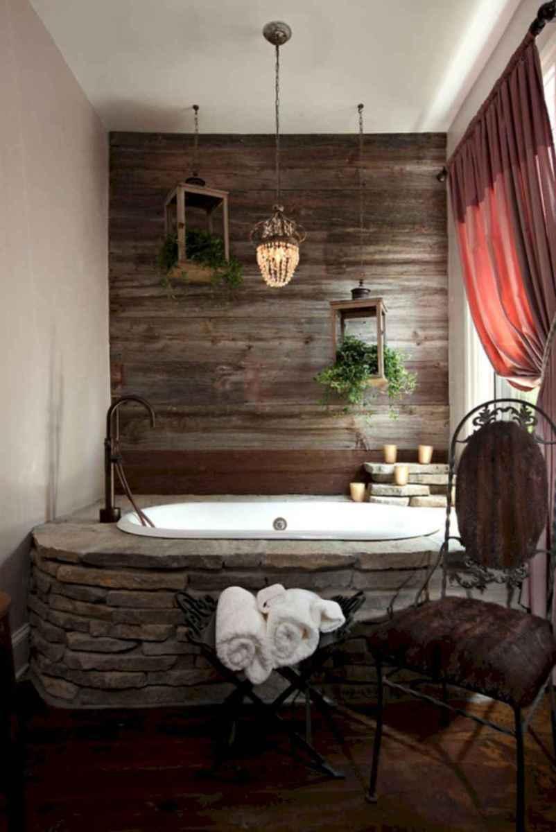 Inspiring rustic bathroom decor ideas (12)