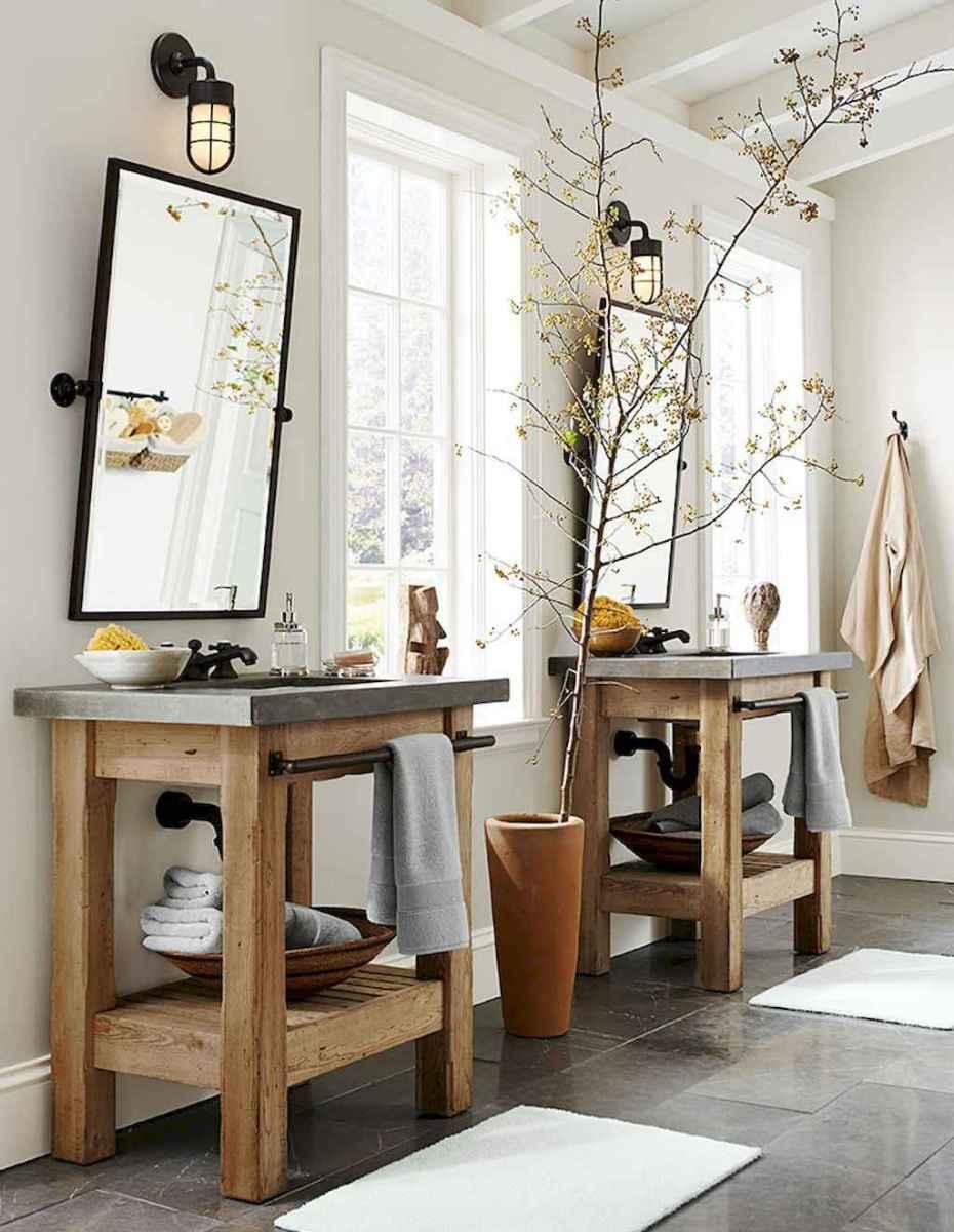 Inspiring rustic bathroom decor ideas (13)