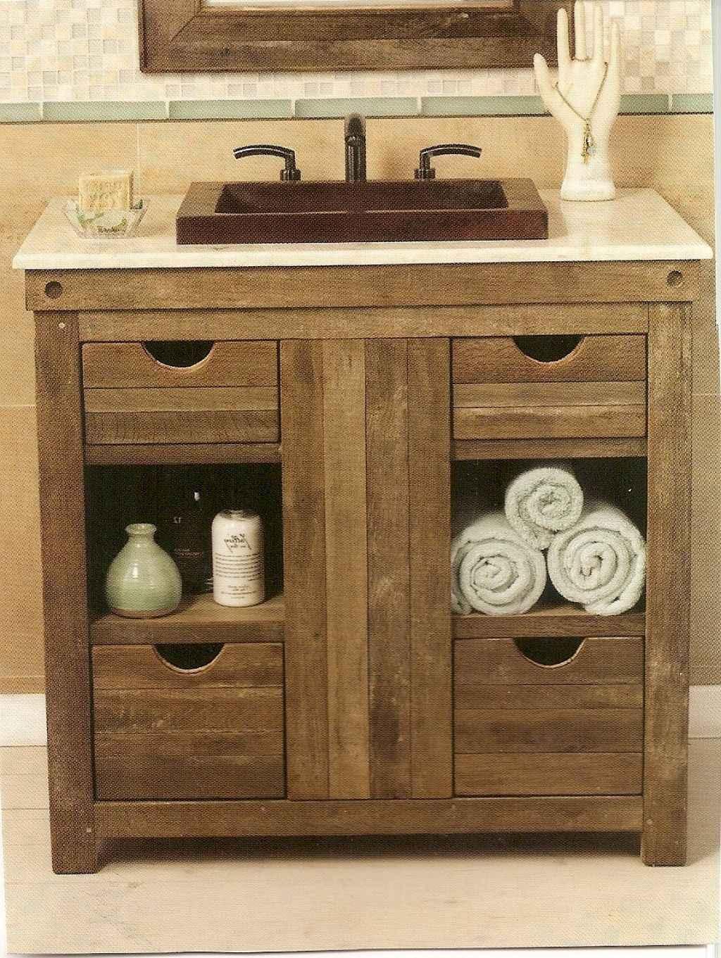 Inspiring rustic bathroom decor ideas (30)