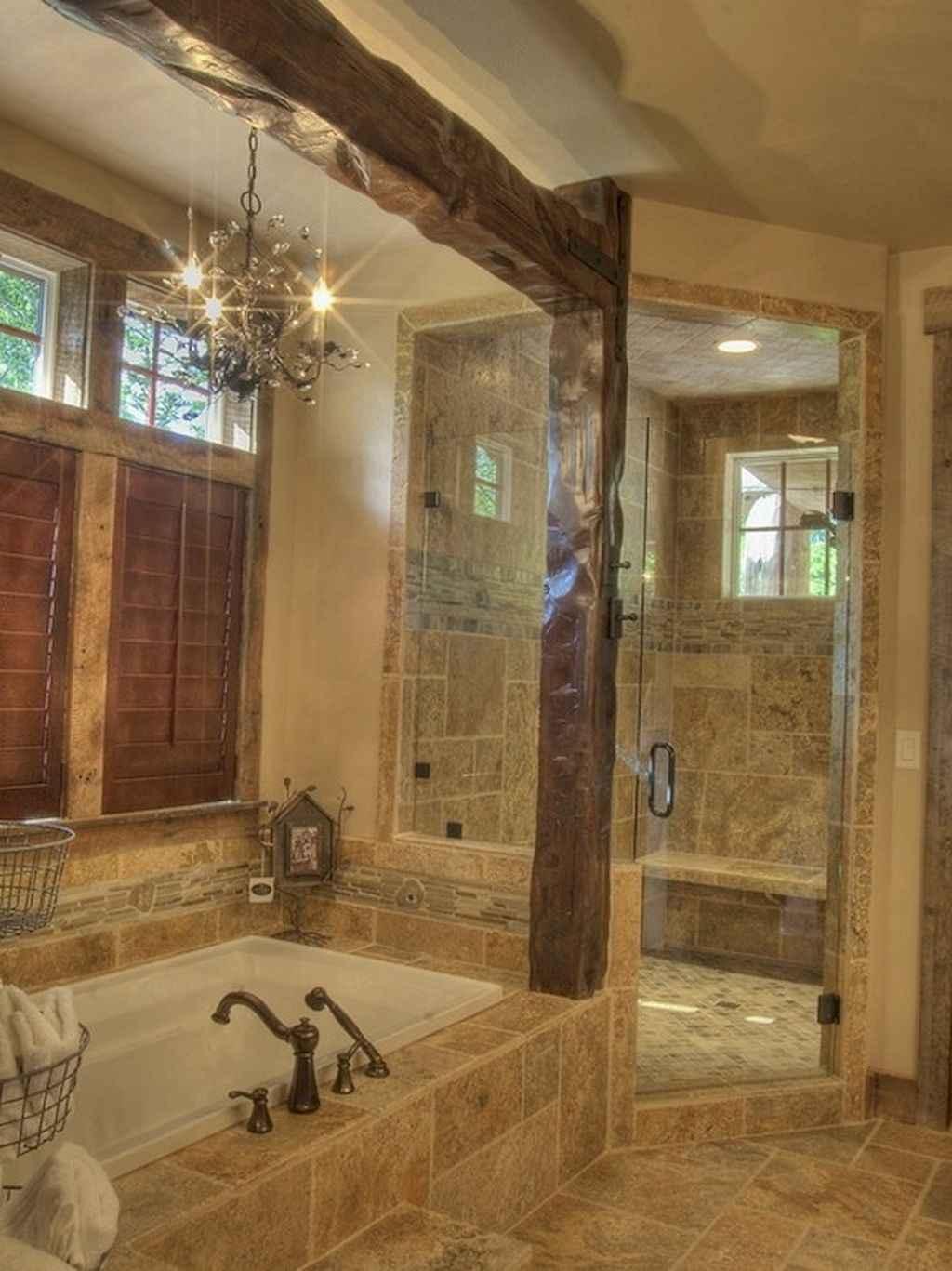 Inspiring rustic bathroom decor ideas (32)