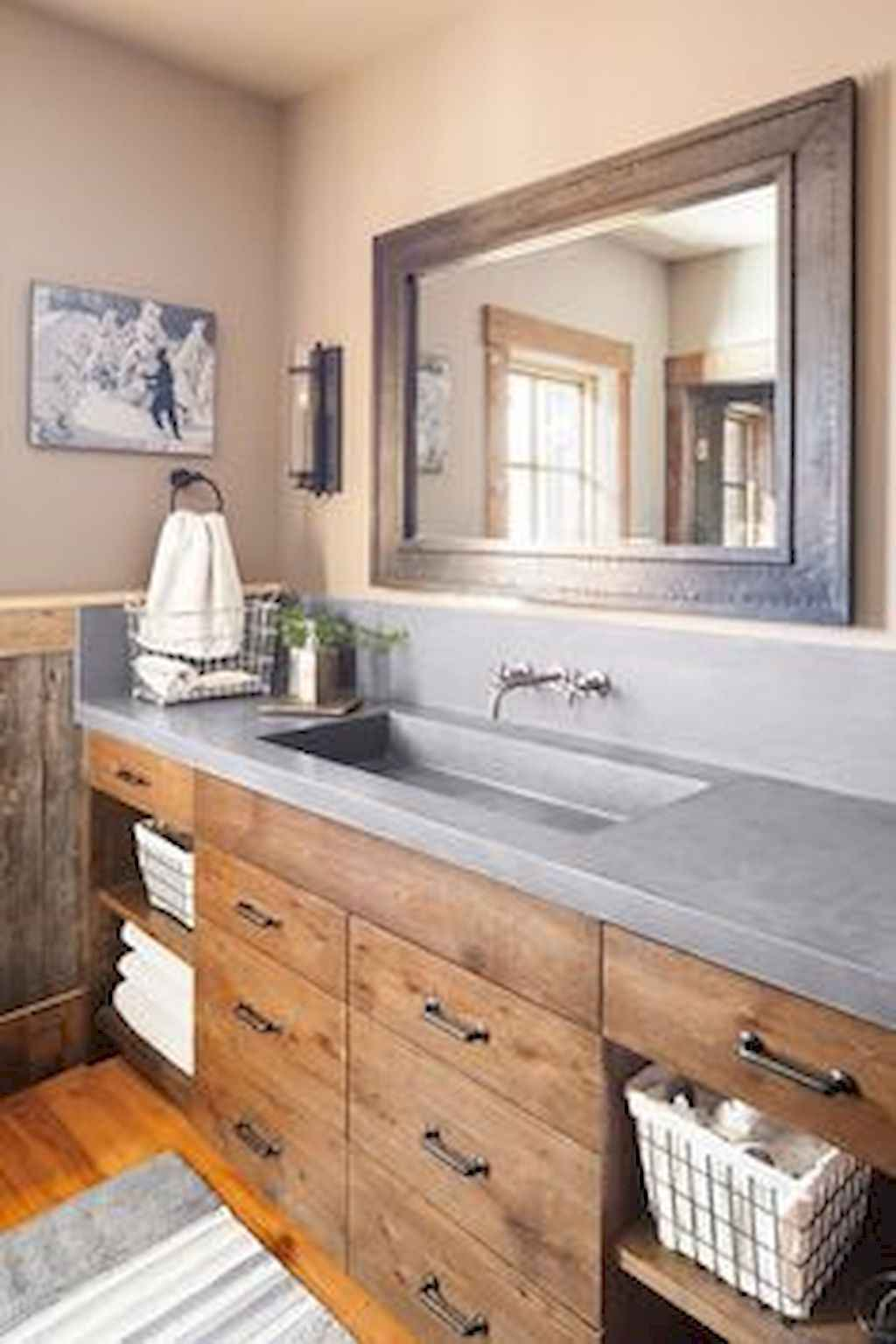 Inspiring rustic bathroom decor ideas (9)