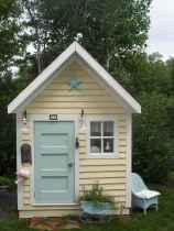 Magically sweet backyard playhouse ideas for kids garden (14)