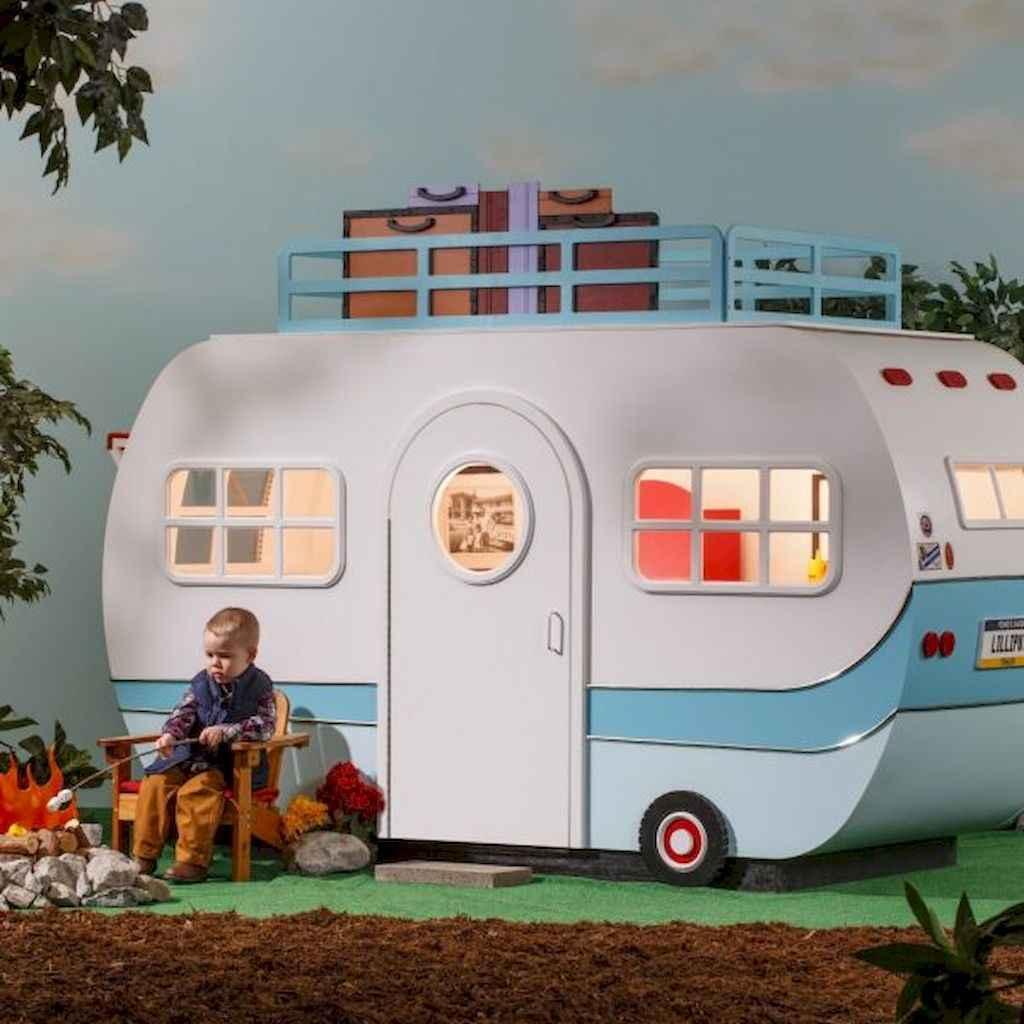 Magically sweet backyard playhouse ideas for kids garden (36)
