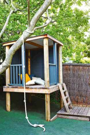 Magically sweet backyard playhouse ideas for kids garden (45)