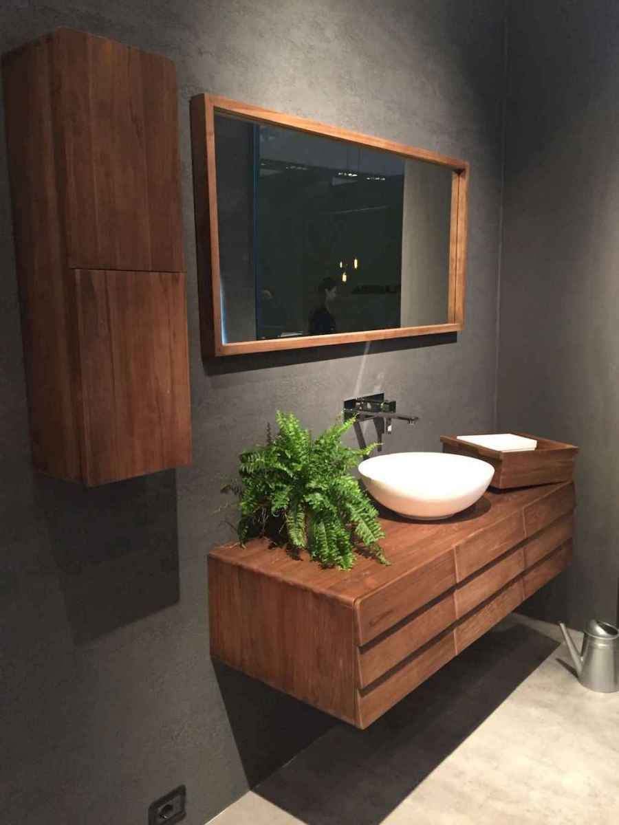 Mid century bathroom decoration ideas (27)