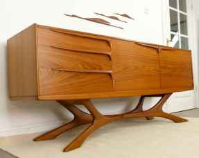 Mid century modern home decor & furniture ideas (50)