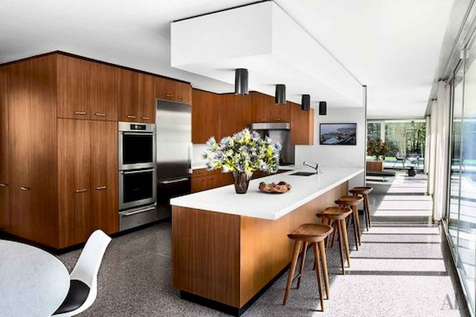 Mid century modern kitchen design ideas (15)