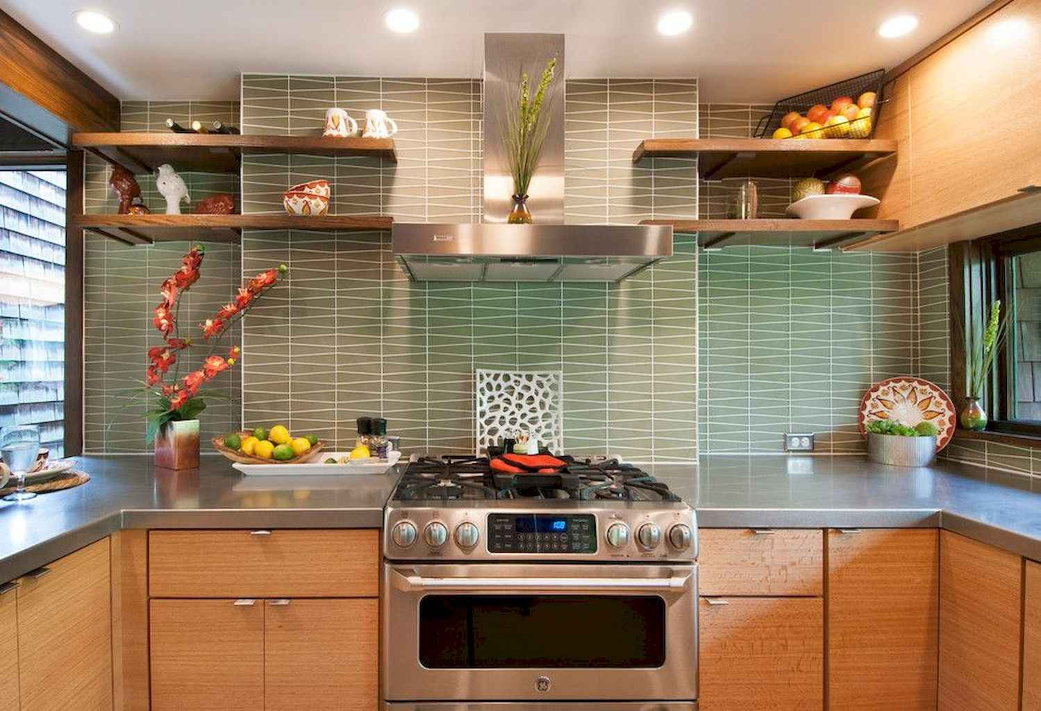 Mid century modern kitchen design ideas (22)