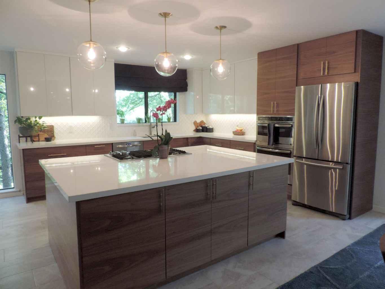 Mid century modern kitchen design ideas (23)