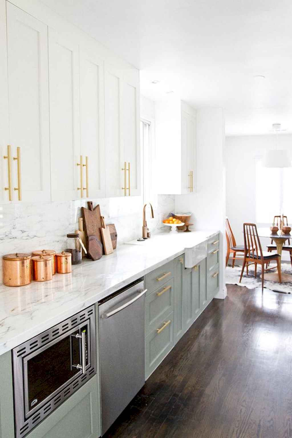 Mid century modern kitchen design ideas (32)