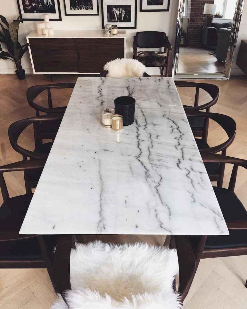 Modern mid century dining room table ideas (2)