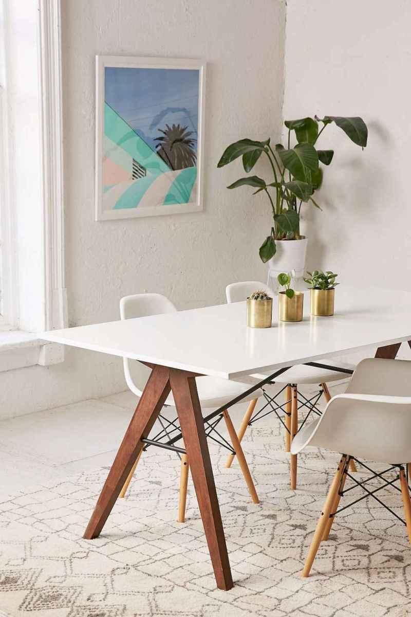 Modern mid century dining room table ideas (39)