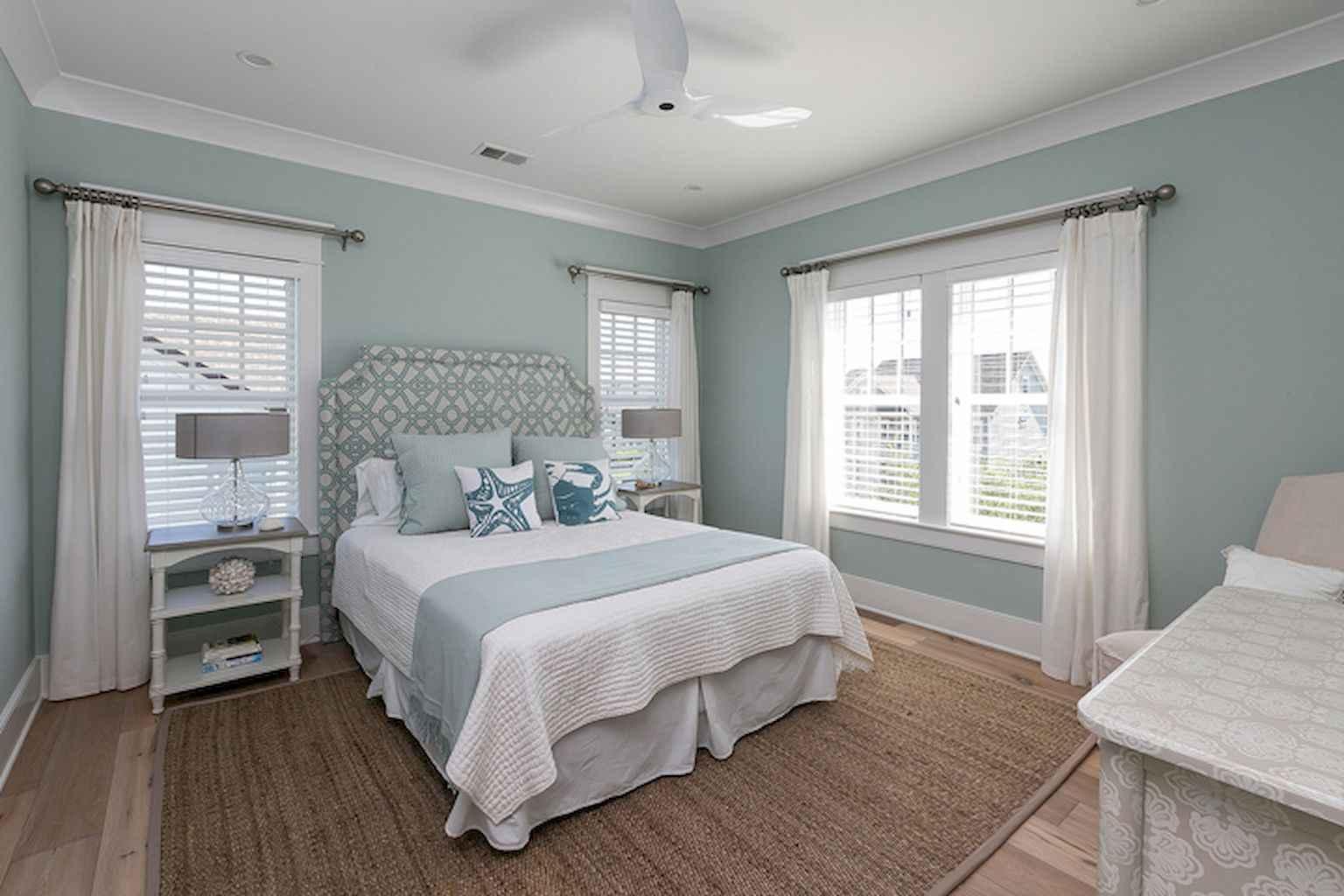 Perfect coastal beach bedroom decoration ideas (35)