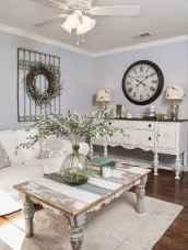 Romantic shabby chic living room decoration ideas (15)