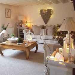 Romantic shabby chic living room decoration ideas (2)